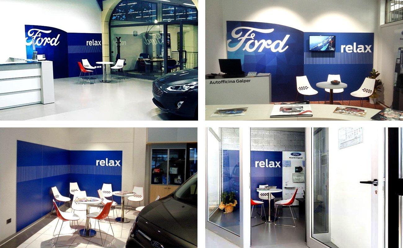 Esempi di installazione del Kit Ford nelle officine della rete italiana