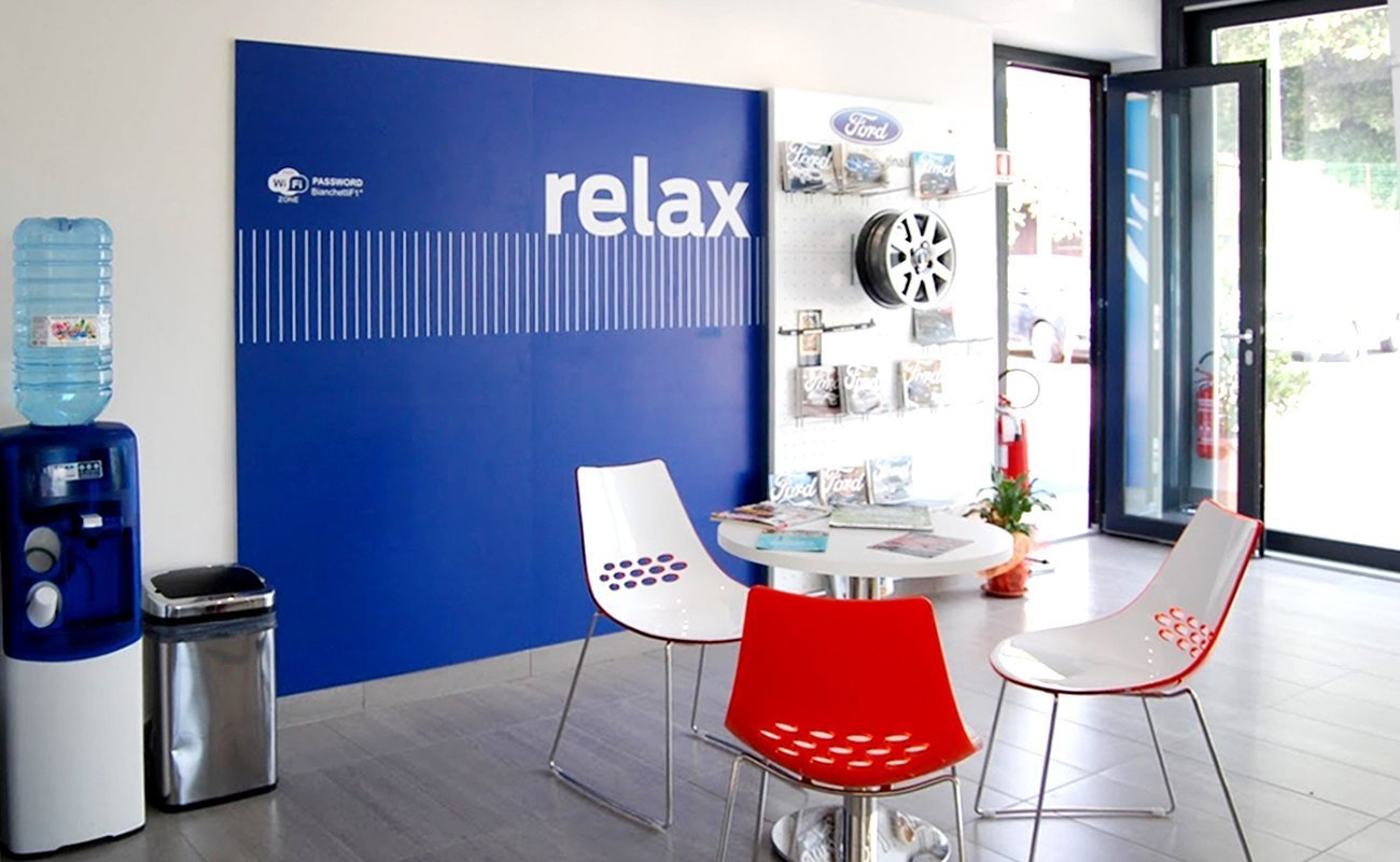 Area relax parte del Kit Ford RA